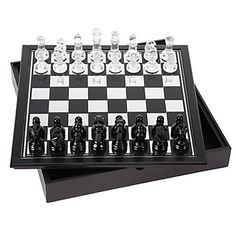 Enjoy the summer weather with a game of chess on the patio. Chess Set, $39.95 #ZGallerie