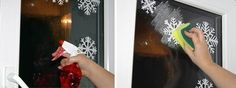 How to DIY Washable Snowflake Prints on Windows3
