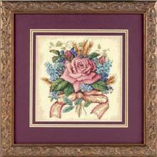 COUPON  Cross Stitch Kit  Rose Bouquet by CrossStitchKitsOnly, $10.00