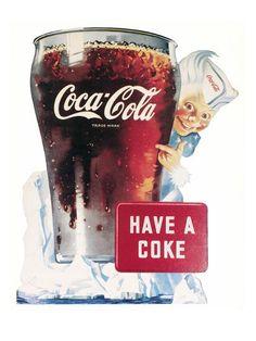 Coke Ad, Coca Cola Ad, 1950s Advertising, Root Beer, Retro, Vintage Ads, Custom Framing, Giclee Print, Soda