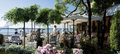 Hotel Cipriani, Venice - A memorable lunch here with Bill and Rod and Betty Allen.