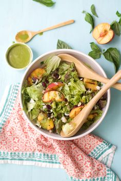 Grilled Peach Salad-2