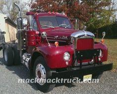 R Model Mack Truck Restoration Mickey Delia NJ - Mack