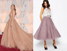 Have fun with your look by donning a full tulle skirt.