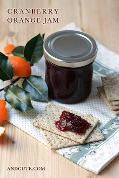 Cranberry Orange Jam