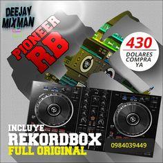 #Pioneer RB el equipo más pequeño y potente del mercado Incluye el programa Sensación #Rekordbox full 0984039449. Tiempo limitado
