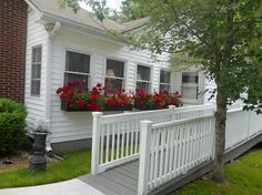 adding a wheelchair ramp.  Cute cottage feel.  Accessibility can be pretty!