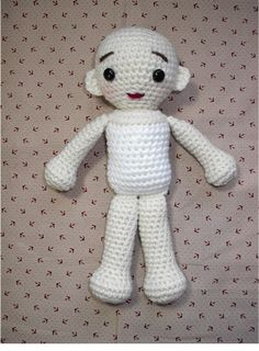 Basic Crochet Doll Pattern Free : 1000+ images about Amigurumi - Dolls on Pinterest ...