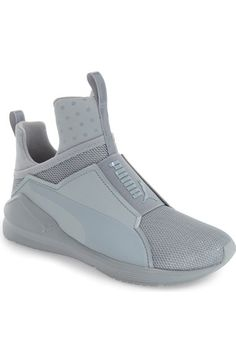 PUMA 'Fierce Shine' High Top Sneaker (Women) available at #Nordstrom
