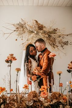 Rust colored earthy boho wedding reception inspiration | Image by Maggie Grace Photography Cabin Wedding, Boho Wedding, Floral Wedding, Wedding Blog, Wedding Reception, Wedding Venues, Wedding Designs, Wedding Styles, Bohemian Wedding Inspiration