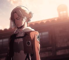 """""""Why Annie?Why did you have Marco's Maneuver Gear?"""" """"I happened to pick it up. Armin, Attack On Tatin, Annie Leonhardt, Female Titan, Aot Characters, Connie Springer, Fanart, Good Anime Series, Aizawa Shouta"""