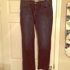 Levi Straight Leg Jeans Medium length. Lightly worn Levi's Jeans Straight Leg