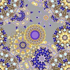 Purple Peepers fabric by joanmclemore on Spoonflower - custom fabric