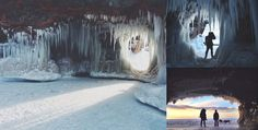 Featured Image for Evocative photos of Lake Superior ice caves blocked for five years