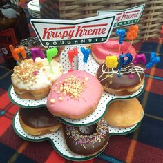 Happy 78th Birthday to us  #krispykreme #doughnuts #78yearsyoung #roofnic #celebrate