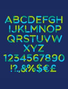 TriColore free font