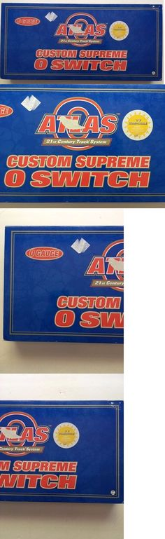 Track 47437: Brand New Atlas O Gauge #6086 0-45 Right Hand Righthand Remote Switch New In Box -> BUY IT NOW ONLY: $47.95 on eBay!