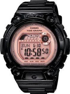 G-Shock BLX100-1E Baby-G Black - Pink Watch