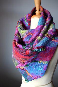 Felted scarf by Svitlana