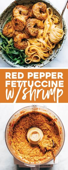 Red Pepper Fettuccin