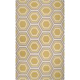 Found it at Wayfair - <strong>Jill Rosenwald Rugs</strong> Fallon Yellow Rug