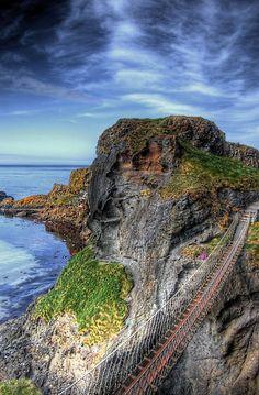 Carrick a Rede Bridge S Ireland