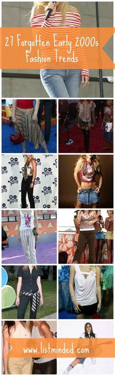27 Forgotten Early 2000s Fashion Trends #beauty