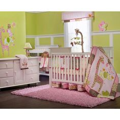 Check out the Carter's Jungle Jill Four Piece Crib Bedding Set from BabyAge.com!
