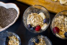 Over night oats - ZEINAS KITCHEN Acai Bowl, Cereal, Breakfast, Kitchen, Night, Food, Acai Berry Bowl, Morning Coffee, Cooking