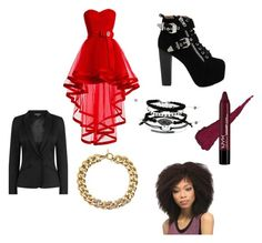"""""""night out"""" by allybmckinley on Polyvore featuring Jeffrey Campbell, Warehouse and Michael Kors"""
