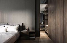 Bedroom Design Ideas – Create Your Own Private Sanctuary Apartment Bedroom Decor, Home Bedroom, Apartment Living, Master Bedroom, Modern Apartment Design, Modern Bedroom Design, Home Room Design, Rooms Ideas, Bedroom Layouts