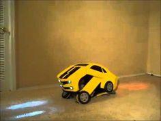 Awesome Homemade Transforming Bumblebee Transformer Halloween Costume - YouTube
