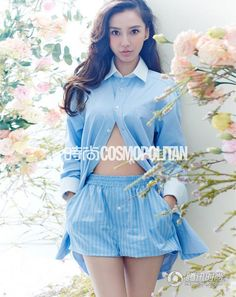 d4722e09bcf6 Chinese Actress, Angelababy, Celebrity Magazines, Cosmopolitan Magazine,  Chinese Model, Asian Cute