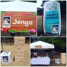 Join and here in Mother's Day Picnic event at the UP Sunken Garden. Play Jenga and get a chance to win Insular Life's Children's book.