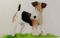 Fox Terrier, cute