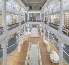 "Carturesti ""Carousel of Light"" Bookstore by Square One, Bucharest – Romania"