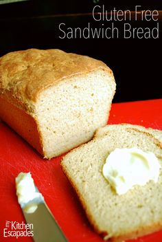 Gluten Free Sandwich Bread - don't buy that rubbery, nasty stuff from the store because this is the best!!!