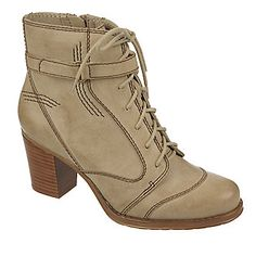 """Naturalizer """"Davina"""" Ankle Boots in Stone"""
