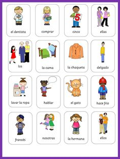 This set has 473 flashcards for your Spanish lessons. These are great and helpful visuals covering all major topics in Spanish.