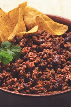 Try this healthier, low fat Chilli Con Carne recipe for a tasty take on a classic. Made with Meat Free Mince.  Discover more low calorie meal ideas from Quorn.