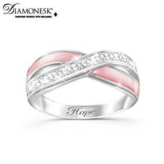 Breast Cancer Ring of Hope. #attachnwrap #chemowrap #fashionscarf
