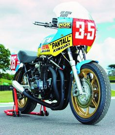 The ex-Graeme Crosby1978/79 Moriwaki Kawasaki 1,100cc TT Formula 1 Racing Motorcycle