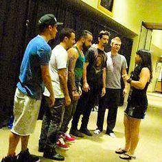 Backstreet boys VIP IAWLT tour in Vegas 9/7/13