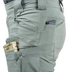 Helikon-Tex Outdoor Tactical Pants - Versastretch - S Khaki Denim Cargo Pants, Men Pants, Tactical Suit, Fashion Pants, Mens Fashion, Mens Outdoor Clothing, Tactical Clothing, Colored Pants, Clothing Hacks