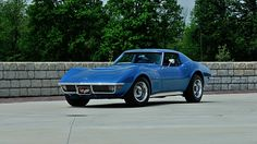 1970 Chevrolet Corvette LT1 Coupe Bloomington Gold Benchmark with 2,202 Miles presented as lot R122 at Monterey, CA 2015 - image1