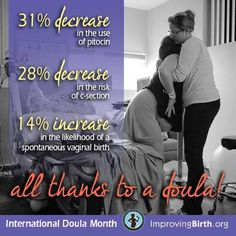 Doula care is evidence-based, and leads to better outcomes