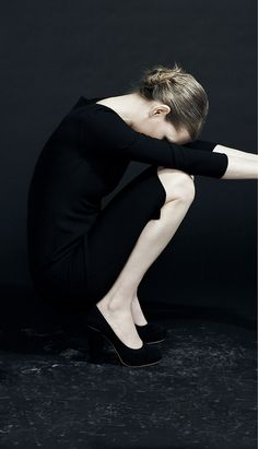 Style: Minimal + Classic: black. [from the Lida Baday F/W 2011 Lookbook