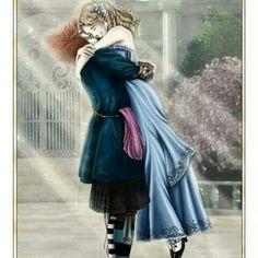Alice e il cappellaio matto. Fan art stupenda