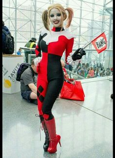 Harley Quinn Cosplay With Kitty Young.
