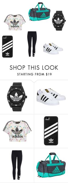"""""""adidas"""" by m-j-harries ❤ liked on Polyvore featuring adidas and adidas Originals"""